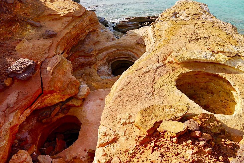 Gantheaume Point - Faszinierende Oberflächenstruktur - Broome, Kimberley - Western Australia
