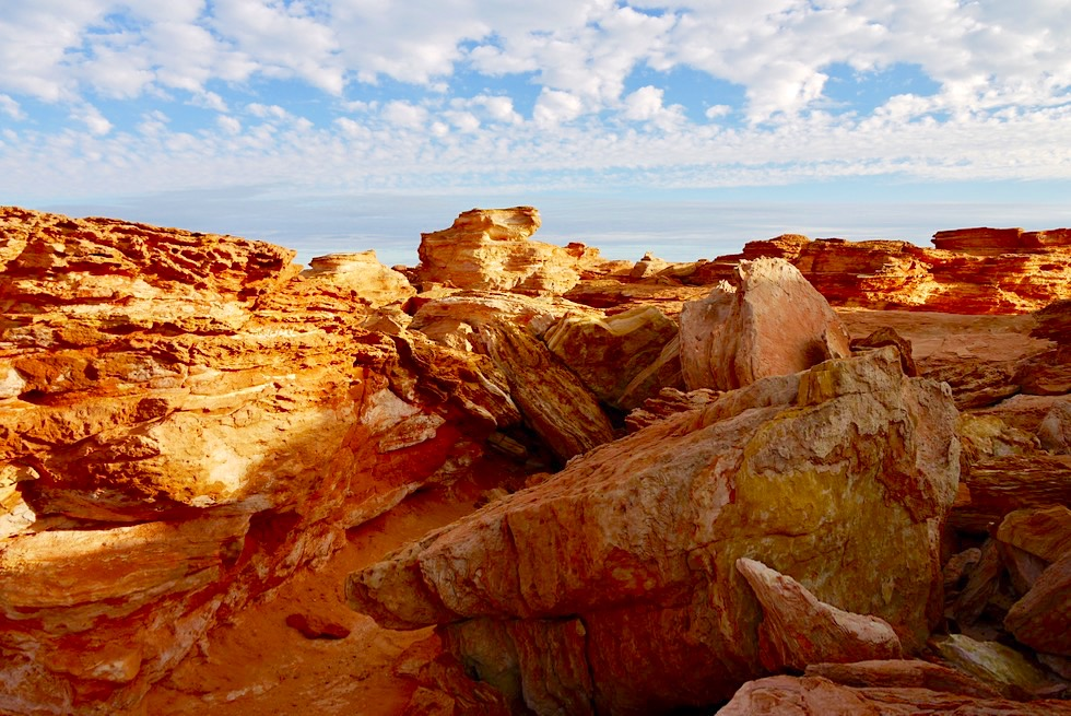 Gantheaume Point - Grandiose Sonnenuntergangsstimmung - Kimberley, Western Australia