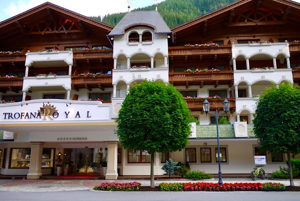 5 Sterne Hotel Trofana Royal mit Sternekoch Martin Sieberer - Ischgl, Paznaun in Tirol - Österreich