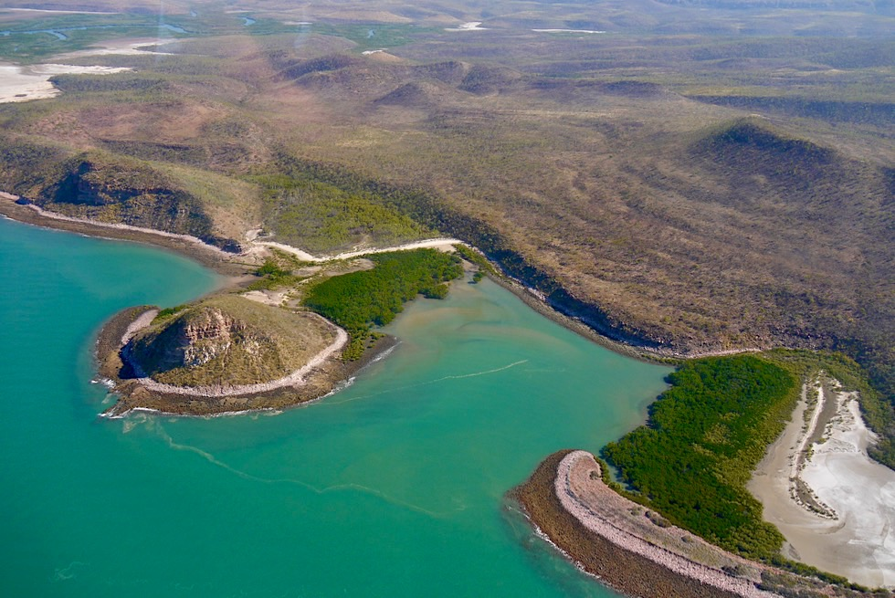Joseph Bonaparte Gulf geht über in den Cambridge Gulf - Kimberley Outback - Western Australia