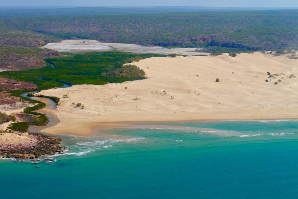 Joseph Bonaparte Gulf - Beeindruckende Sanddünen Landschaft an der Nordküste Kimberley - Western Australia