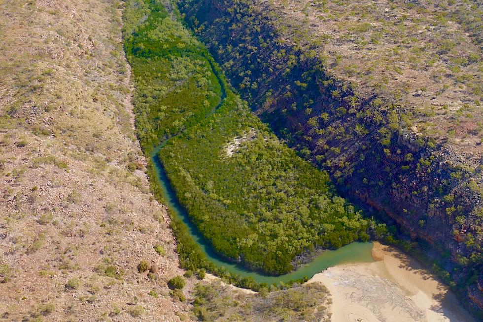 Joseph Bonaparte Gulf - Schluchten mit Mangroven Wäldern - Kimberley Outback - Western Australia