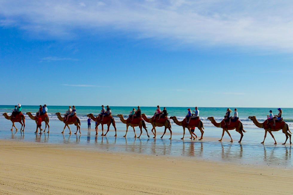 Kamelausritt am Cable Beach - Broome, Kimberley - Western Australia