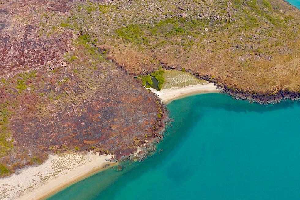 Zauberschöne Kimberley Küste, Faraway Bay & Timor See - Kingfisher Scenic Flight, Kununurra - Western Australia