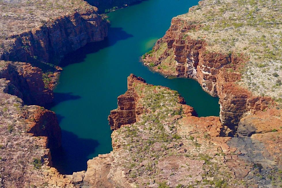 King George Falls: nur per Flugzeug oder Boot erreichbar, nicht auf dem Landwege - Kimberley Outback - Western Australia