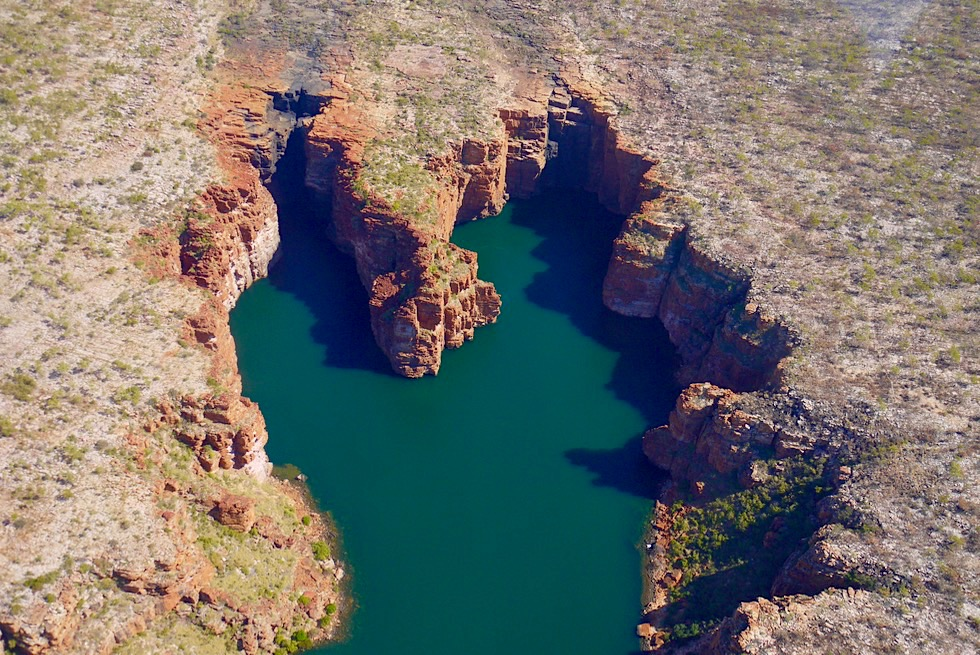 King George Falls - Kingfisher Tours Scenic Flight - Kimberley Outback & Nordküste - Western Australia