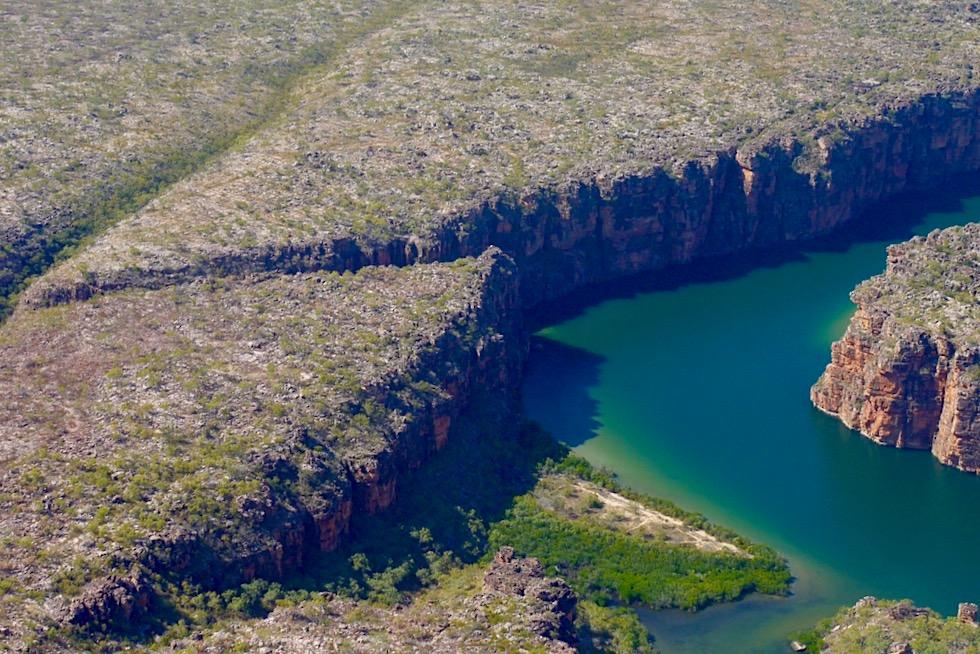 King George River - Schluchten-Landschaft & Plateau - Kimberley Outback - Western Australia
