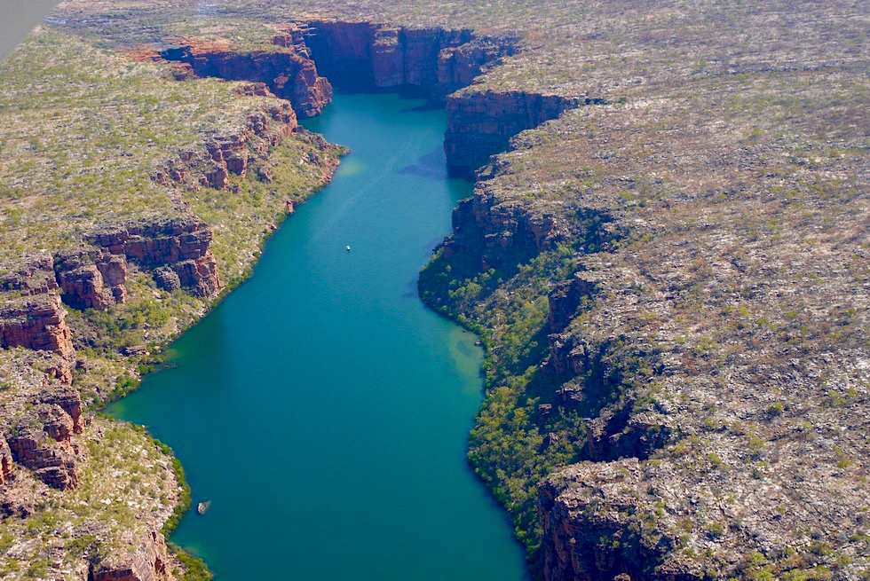 King George Falls & King George River - Timor See - Kimberley Outback - Western Australia