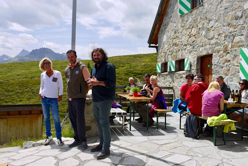Kulinarischer Jakobsweg - Eröffnungsrede auf der Friedrichshafener Hütte - Ischgl, Tirol & Paznaun - Österreich