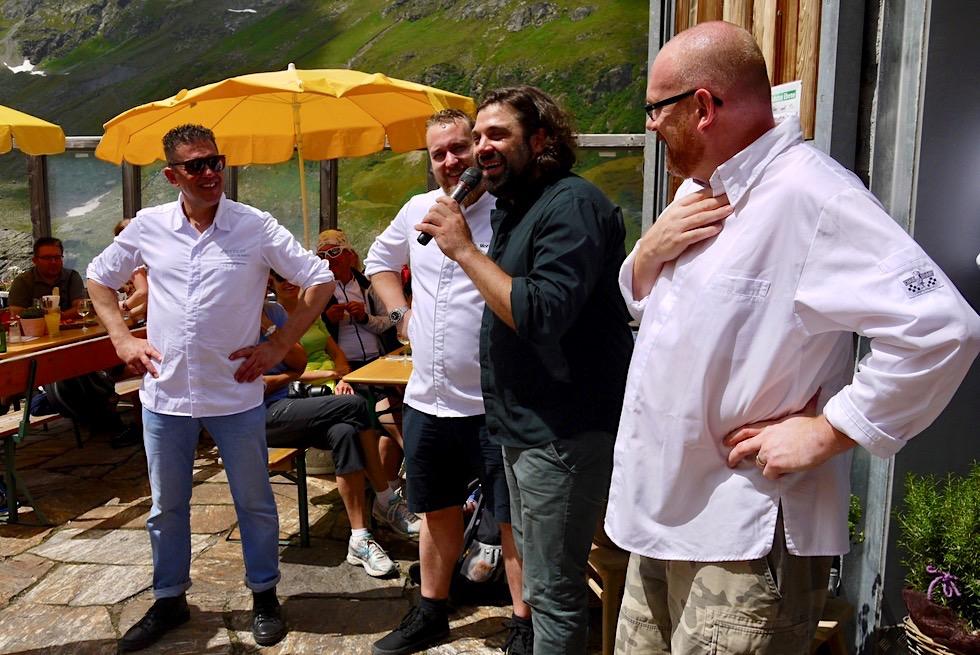 Kulinarischer Jakobsweg - Vorstellung der Köche & ihrer Menüs - Jamtalhütte - Galtür, Tirol - Österreich