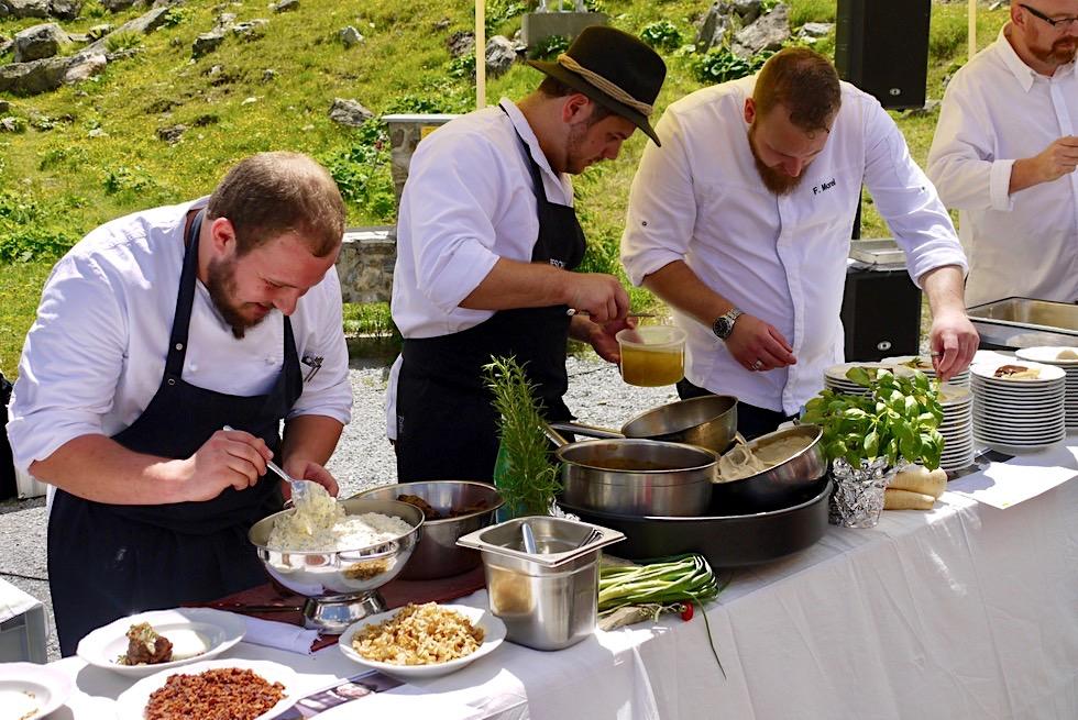 Kulinarischer Jakobsweg - Vorstellung der Gourmet-Speisen für 2017 - Jamtalhütte bei Galtür, Tirol - Österreich