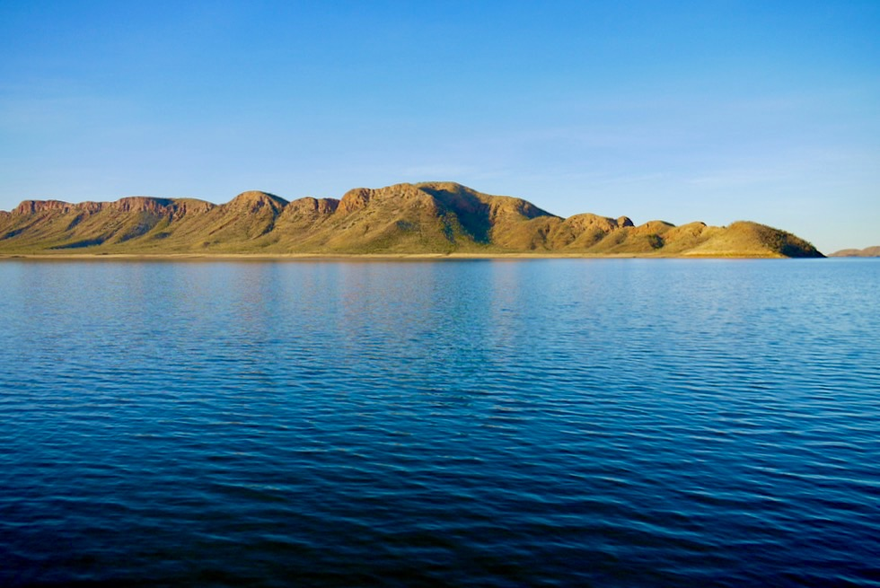 Lake Argyle - Licht & Stimmung am späten Nachmittag auf dem See - Kimberley - Western Australia