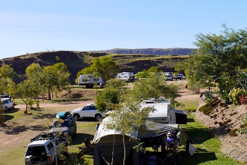 Schön gelegen: Lake Argyle Caravan Park - Kimberley - Western Australia