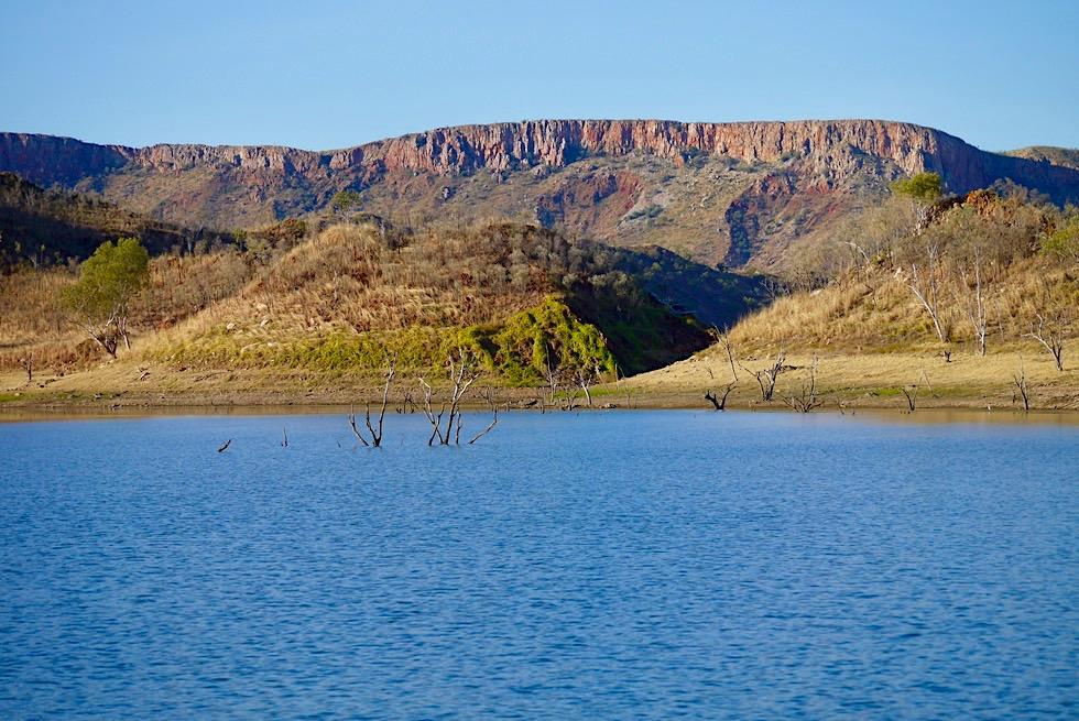 Lake Argyle - Carr Boyd Ranges im Westen - Kimberley - Western Australia