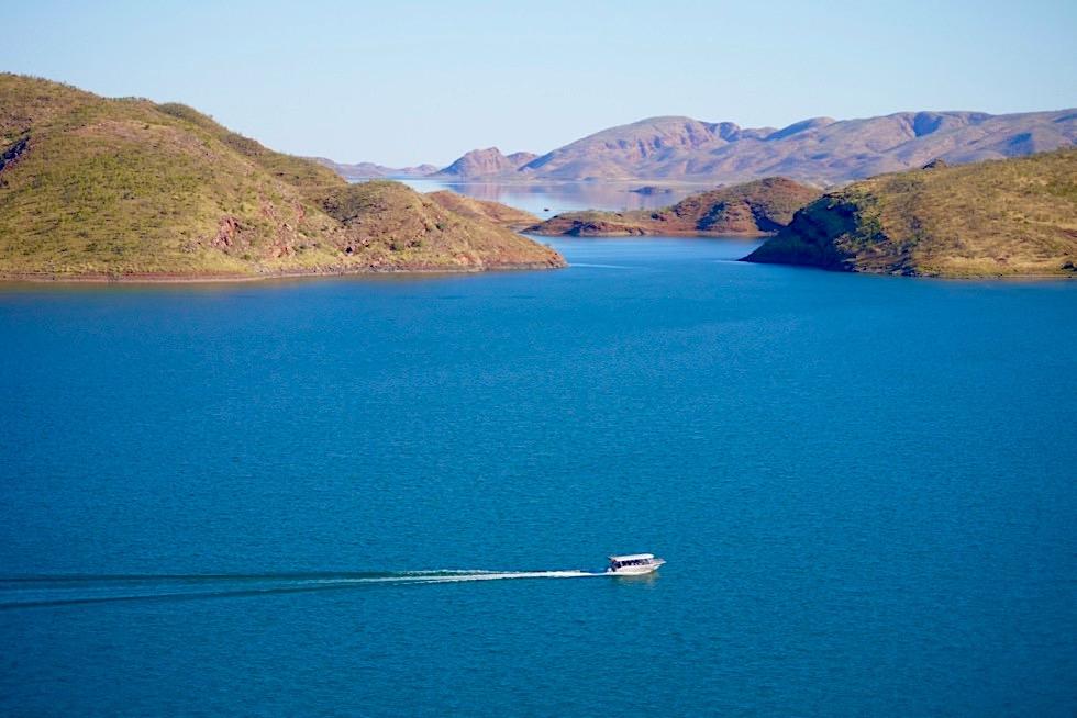 Lake Argyle Cruises - Mit dem Silver Cobber II zu den schönsten Orten im Lake Argyle - Kimberley - Western Australia