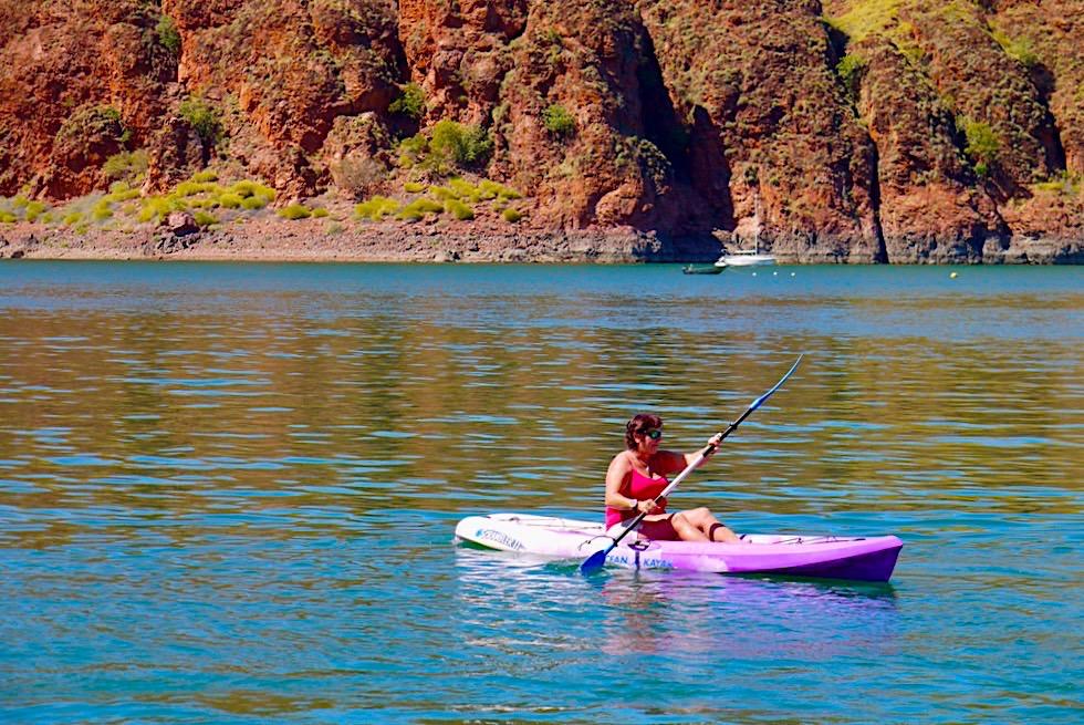 Lake Argyle Cruises: Preisgünstige Kayak Vermietung - Kimberley - Western Australia