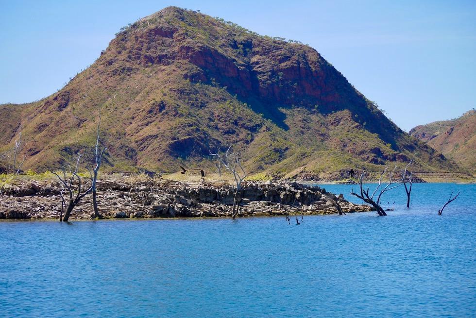 Lake Argyle - Inseln im größten Stausee Australiens - Kimberley - Western Australia