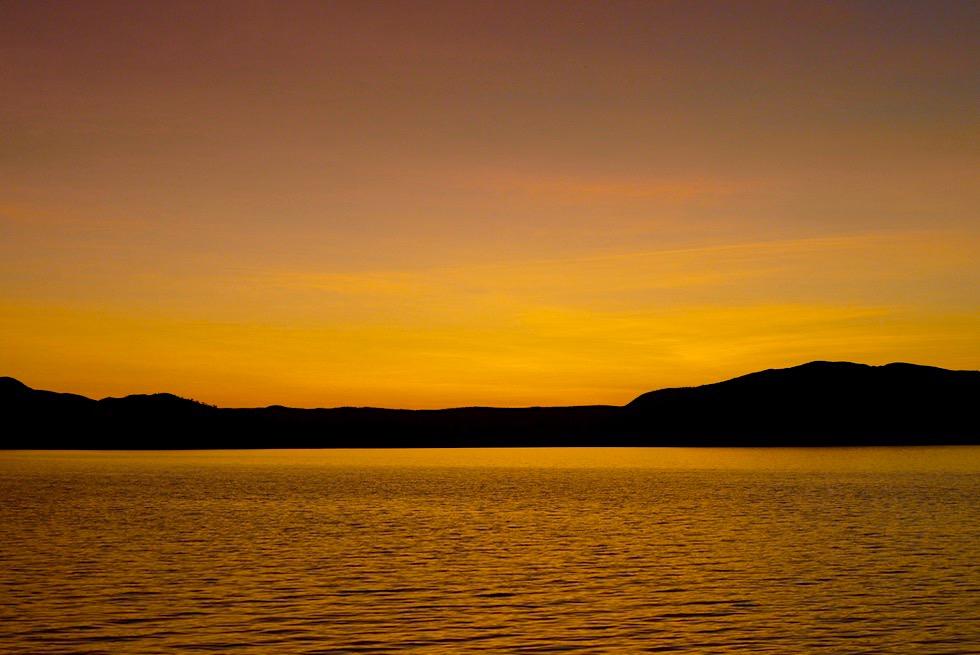 Best of Lake Argyle Cruises - Letze Lichtstrahlen über den weiten Lake Argyle - Kimberley - Western Australia