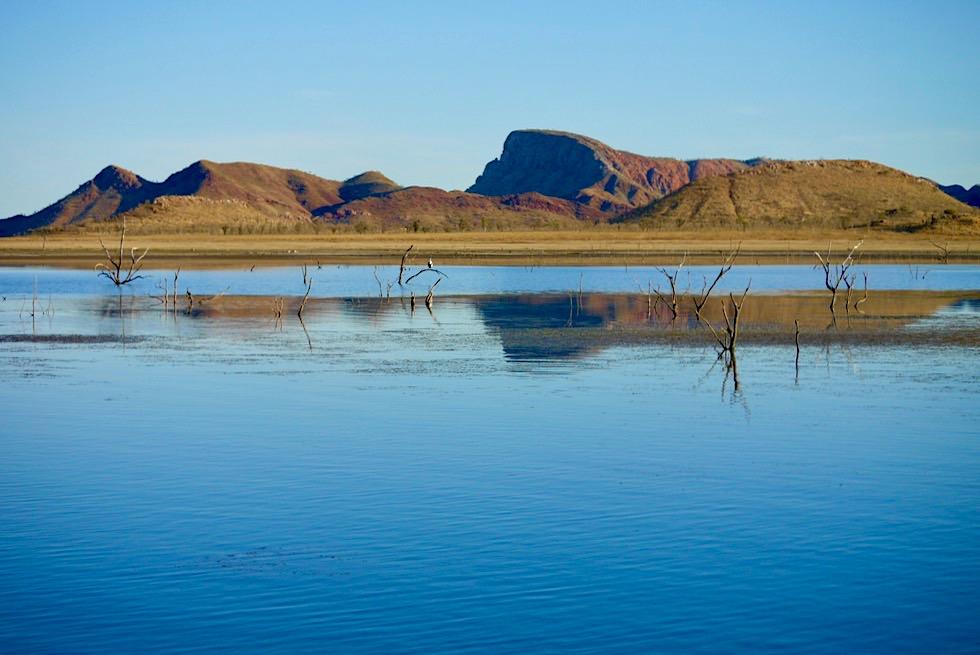 Lake Argyle - Nachmittags-Stimmung auf dem See - Kimberley - Western Australia