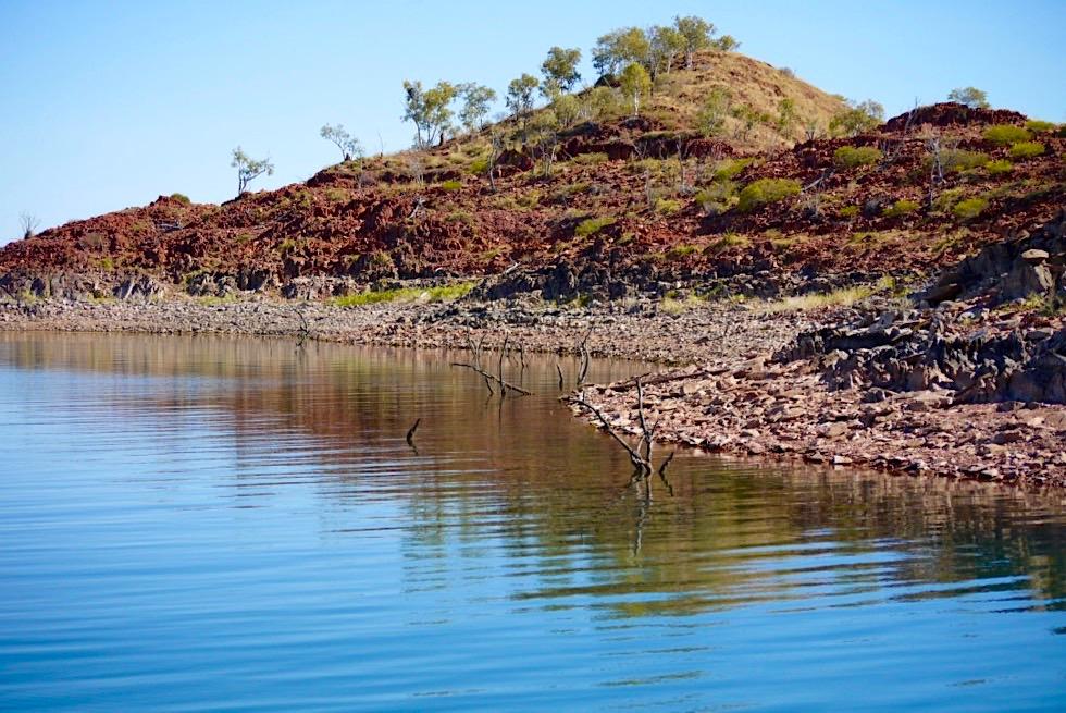 Lake Argyle - Intaktes Ökosystem & Wasserreservat für den Osten der Kimberley Region - Western Australia