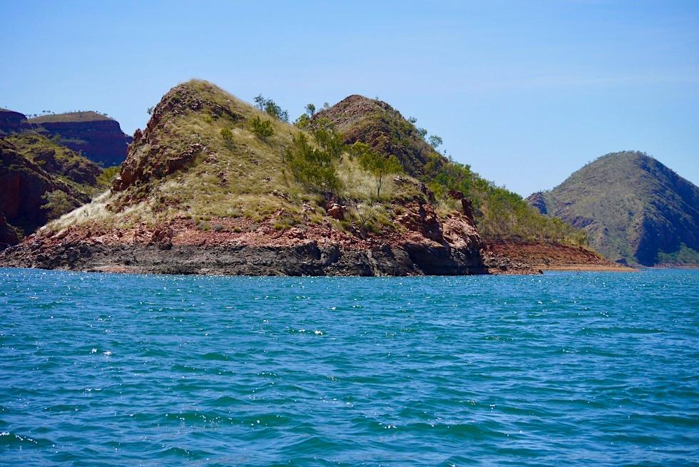 Mit Lake Argyle Cruises in die Pannikin Bay - Kimberley - Western Australia