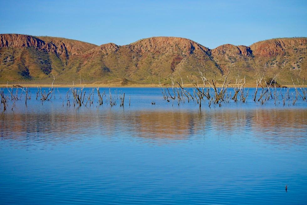 Lake Argyle - Mystische Stimmung am Revolver Creek - Kimberley - Western Australia