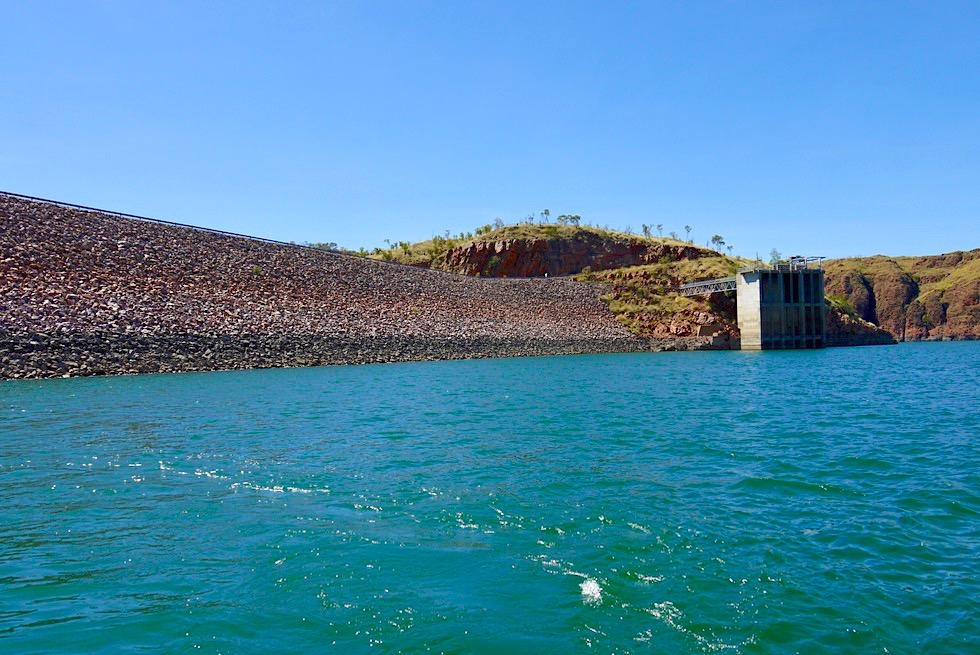 Lake Argyle - Staumauer - Kimberley - Western Australia