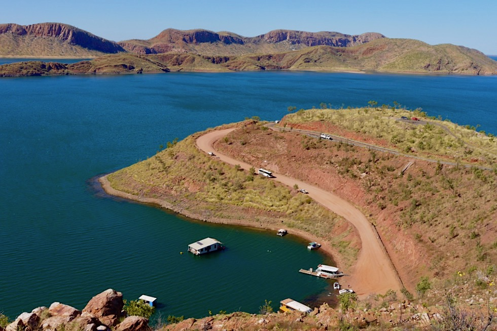 Lake Argyle Wanderungen & Lookouts - Kimberley, Western Australia