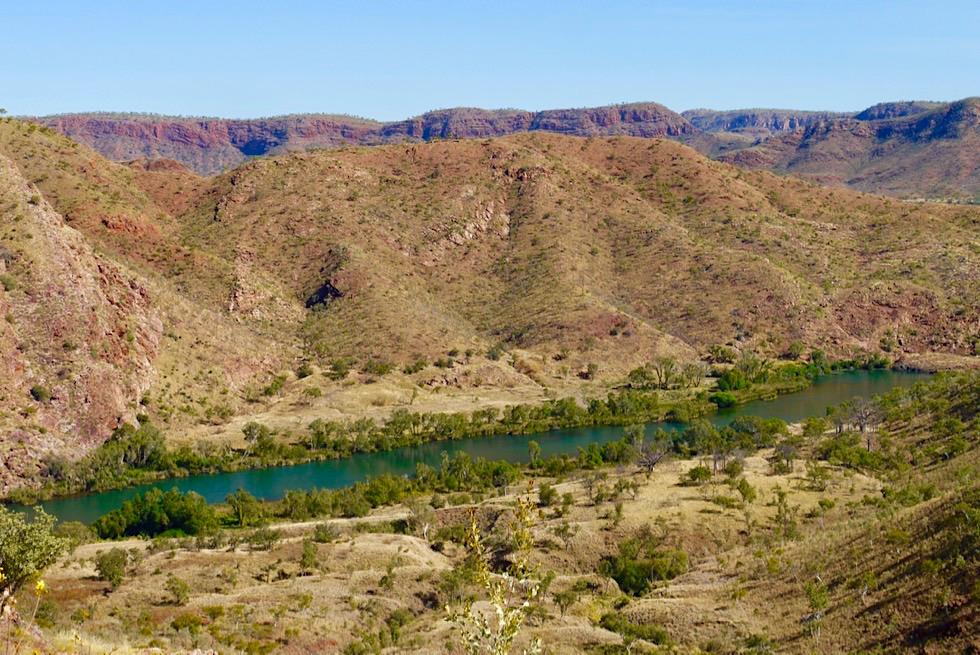 Lake Argyle Wanderungen: Ord River Ausblick - Kimberley- Western Australia