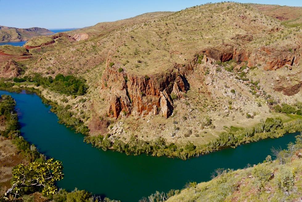 Lake Argyle Wanderungen - Ord River Gorge Walk mit grandiosen Ausblicken - Kimberley - Western Australia