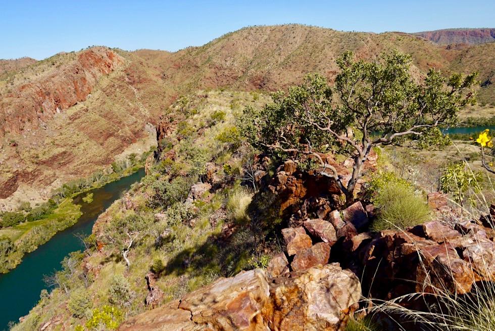 Lake Argyle Wanderungen - Eine Erweiterung des Ord River Gorge Walk über Stock und Stein - Kimberley - Western Australia
