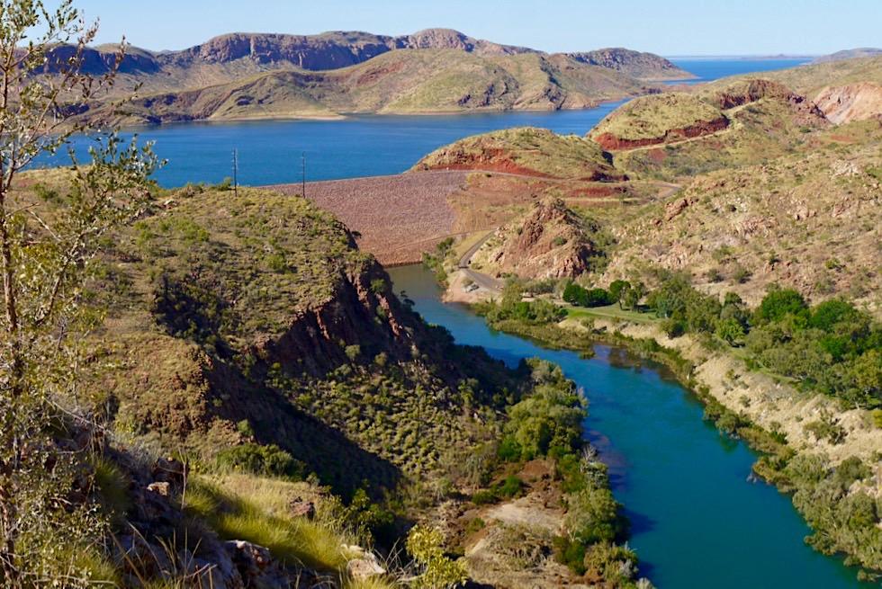 Lake Argyle Wanderungen mit spektakulärem Ausblick - Ord River Gorge Walk Trail - Kimberley - Western Australia