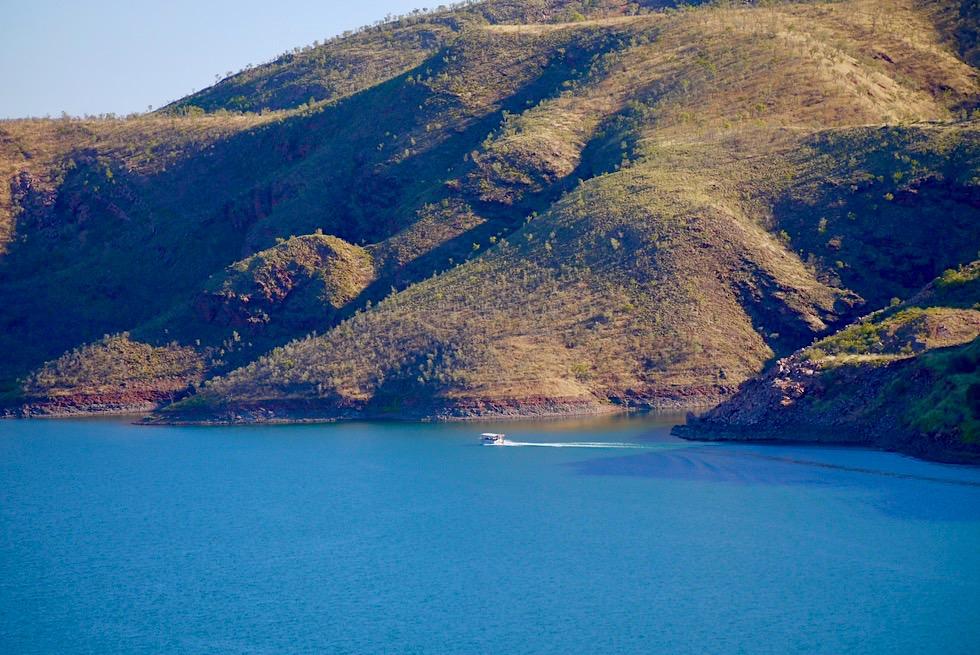 Lake Argyle Wanderungen: Ausblick von Sts Georges Terrace - Kimberley, Western Australia