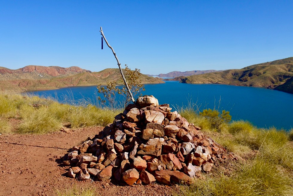 Lake Argyle Wanderungen - The Bluff Lookout - Kimberley, Western Australia