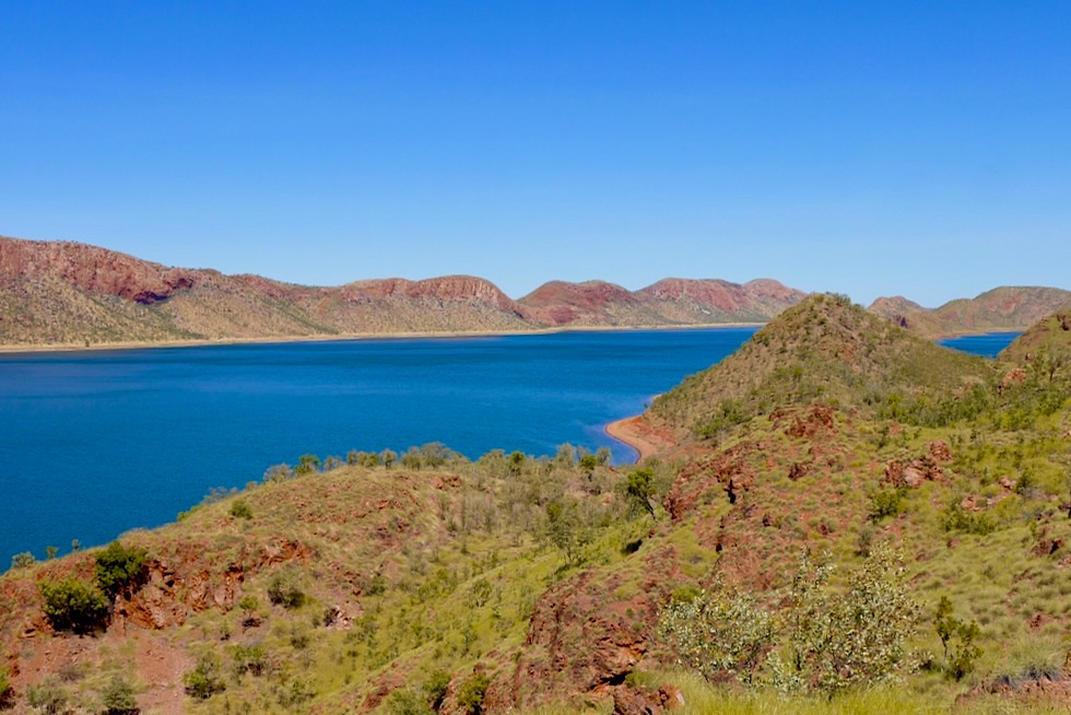 Pannikin Bay & Banangum Ranges - Lake Argyle - Kimberley, Western Australia