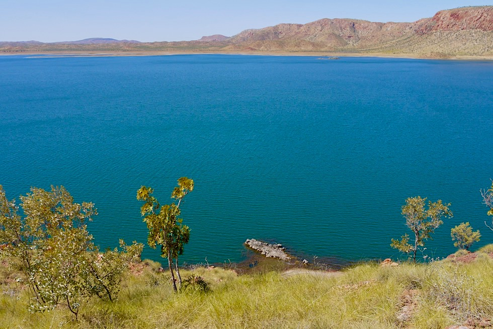 Wunderschön: Pannikin Bay Lookout - Lake Argyle - Western Australia