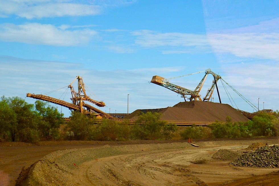 Port Hedland - BHP Eisenerz Tour - Pilbara - Western Australia
