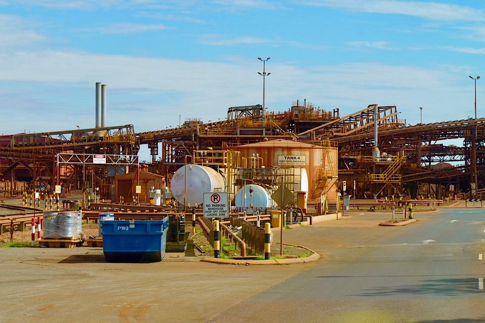 Port Hedland - BHP Iron Ore Tour - Pilbara - Western Australia