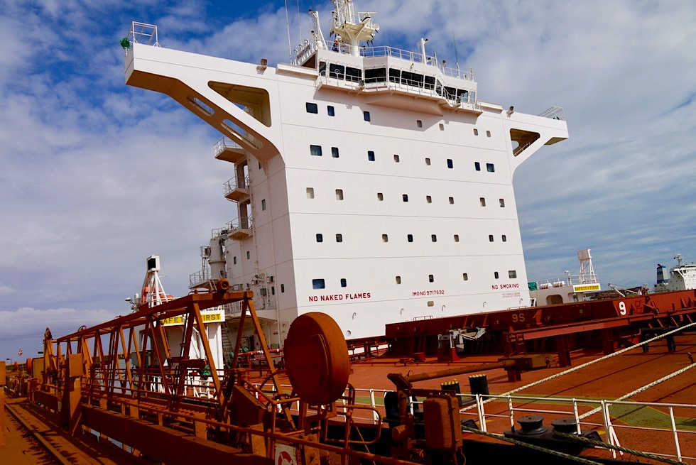 Port Hedland - Fortescue Hafen: Herb Elliot Port - Pilbara - Western Australia