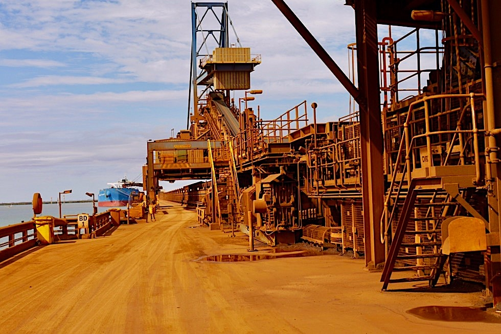 Super interessant: Port Hedland Seafarers Centre Fortescue Port Facility Tour - Pilbara - Western Australia