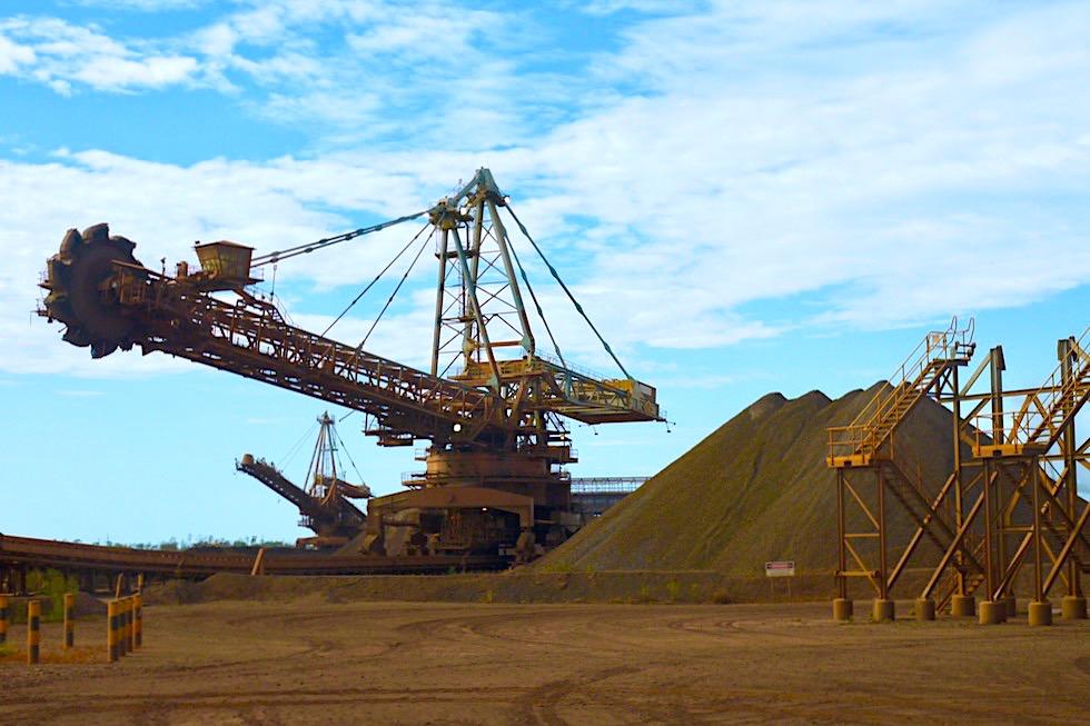 Faszinierend: Port Hedland Seafarers Fortescue Iron Ore Tour - Pilbara - Western Australia