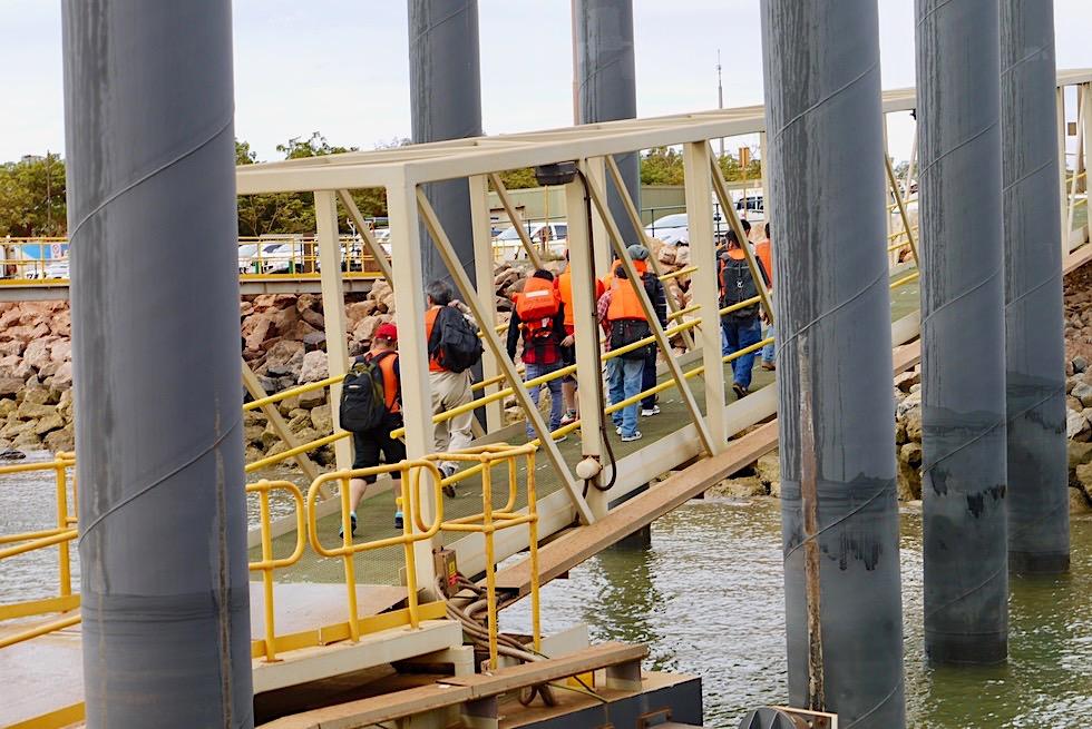Port Hedland Sefarers Centre Harbour Tour - Seeleute kommen an Land - Pilbara - Western Australia