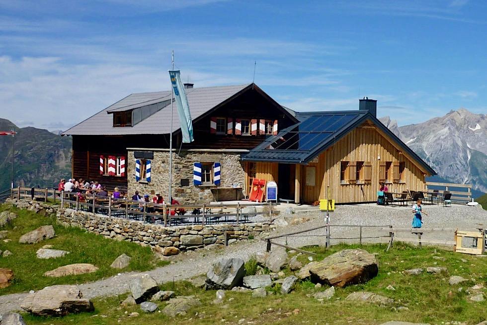 Ascher Hütte - Sektion Pfaffenhofen-Asch - See in Tirol, Paznauntal - Österreich