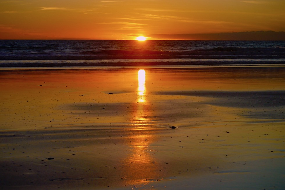 Atemberaubende Sonnenuntergäng am Cable Beach - Broome - Kimberley - Western Australia