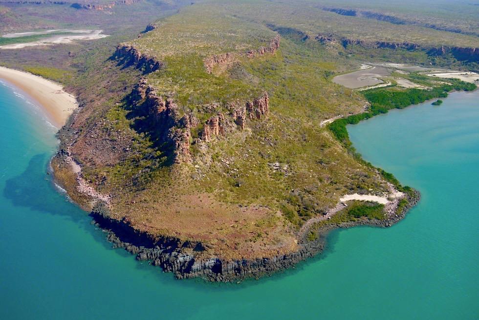 Timor Sea & Berkley River Mündungsgebiet: spektakulär Felsküste - Kimberley Outback - Western Australia