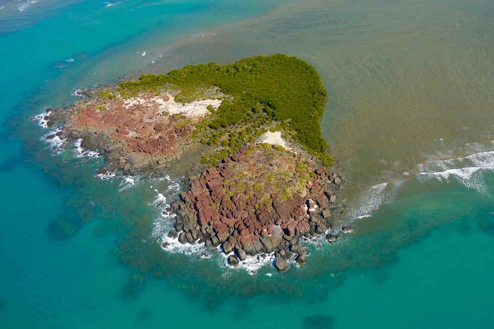 Timor See - Wunderschön: Herz-Insel im Joseph Bonaparte Gulf - Kimberley Nordküste - Western Australia