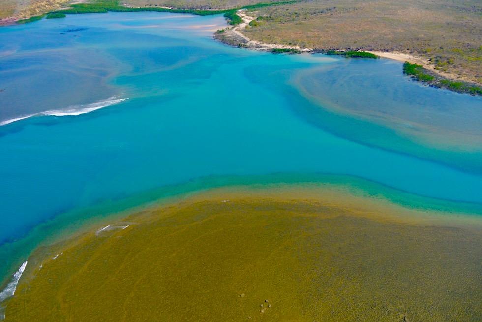 Überwältigend schön: Timor See - Faszinierende Farben oder Malkasten der Natur - Kimberley Outback - Western Australia