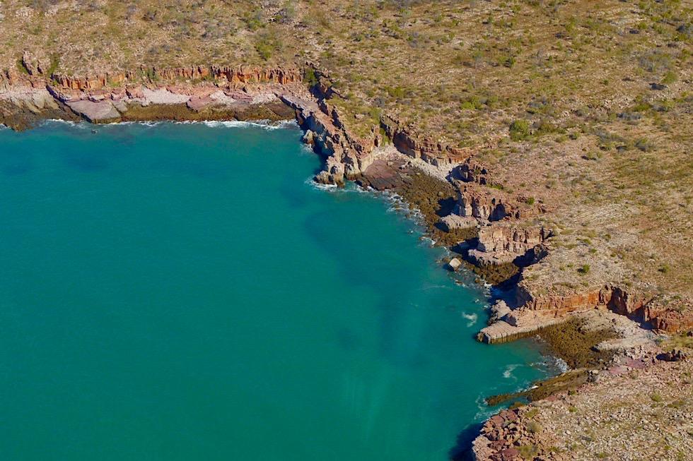 Timor See & Joseph Bonaparte Golf - Faszinierende schroffe Felsküste - Kimberley Outback - Western Australia