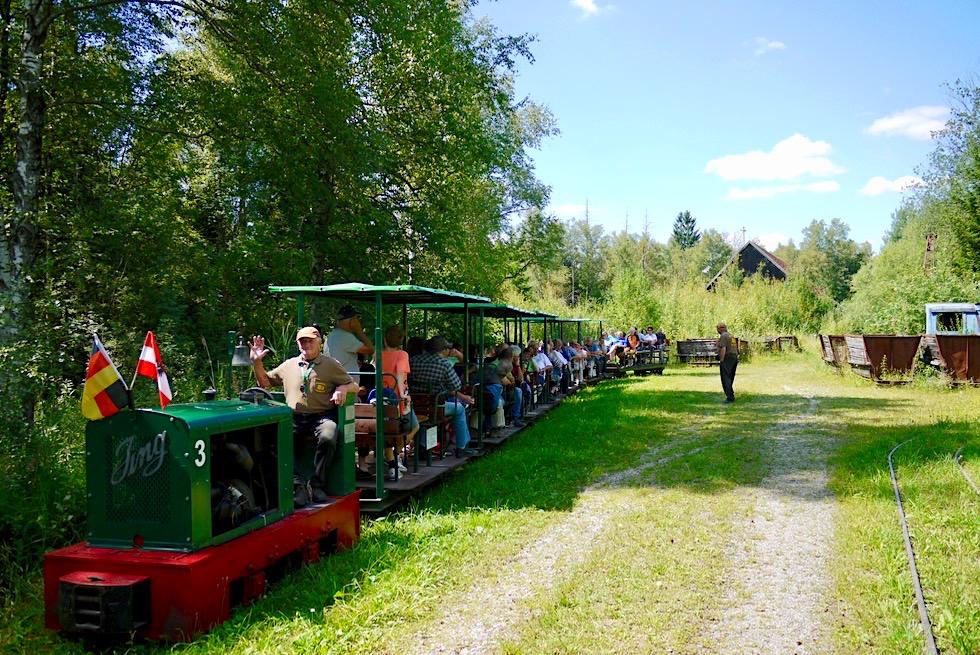 Wurzacher Ried - Torfbahn & Torfgeschichte Wurzacher Ried - Hochmoor - Baden-Württemberg
