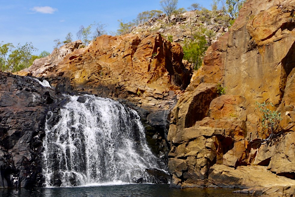 Edith Falls Leliyn - Wildschöne Upper Falls - Nitmiluk NP - Northern Territory